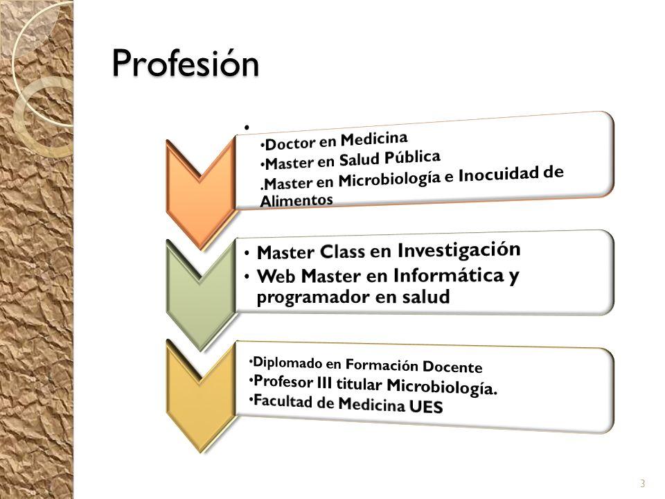 Profesión 3