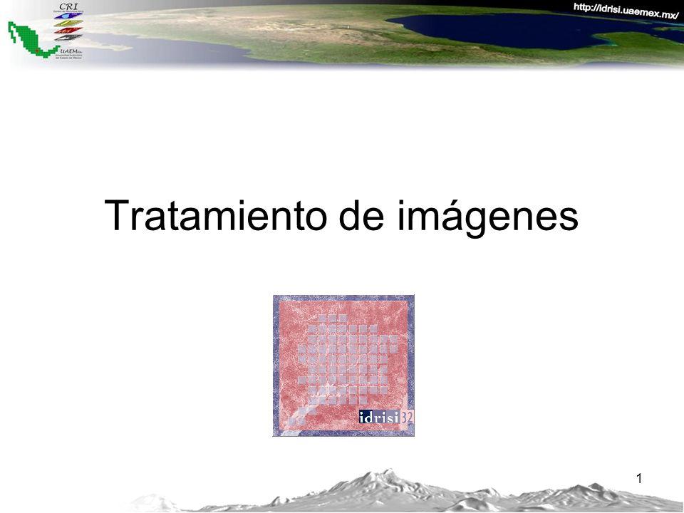 Etapas Exploración de imágenes Clasificación