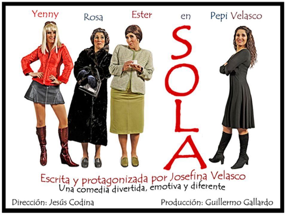 S O L A Sola es la historia de tres mujeres que no se conocen entre sí.