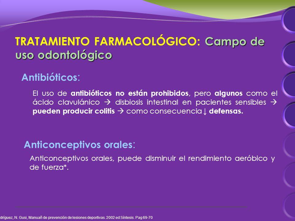 El uso de antibióticos no están prohibidos, pero algunos como el ácido clavulánico disbiosis intestinal en pacientes sensibles pueden producir colitis como consecuencia defensas.