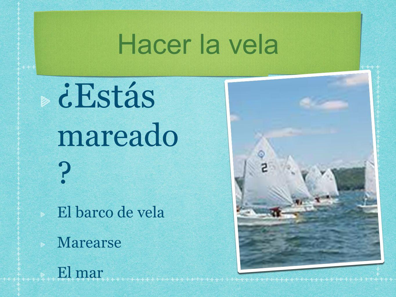 Hacer la vela ¿Estás mareado ? El barco de vela Marearse El mar