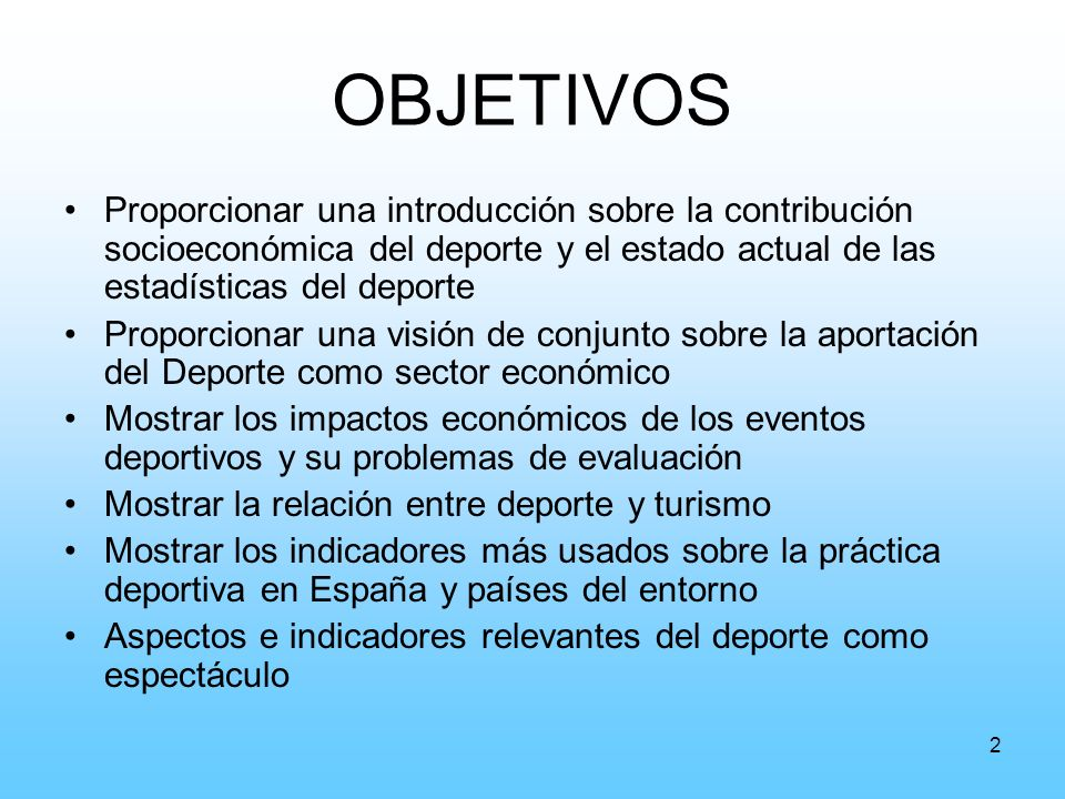 3 ÍNDICE Introducción: El Deporte y sus beneficios socioeconómicos.
