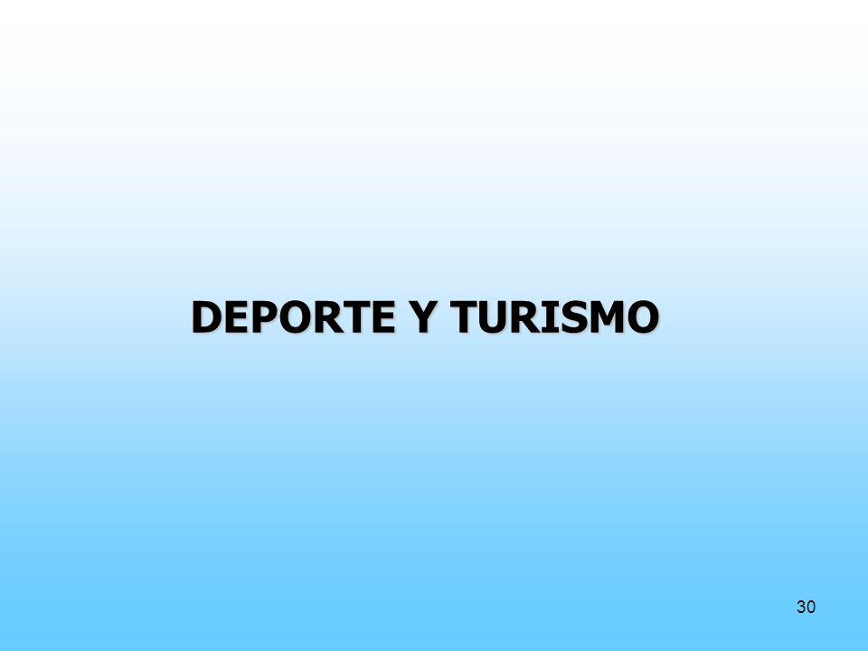 30 DEPORTE Y TURISMO