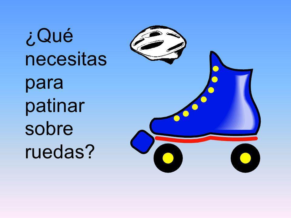 ¿Qué necesitas para patinar sobre ruedas?