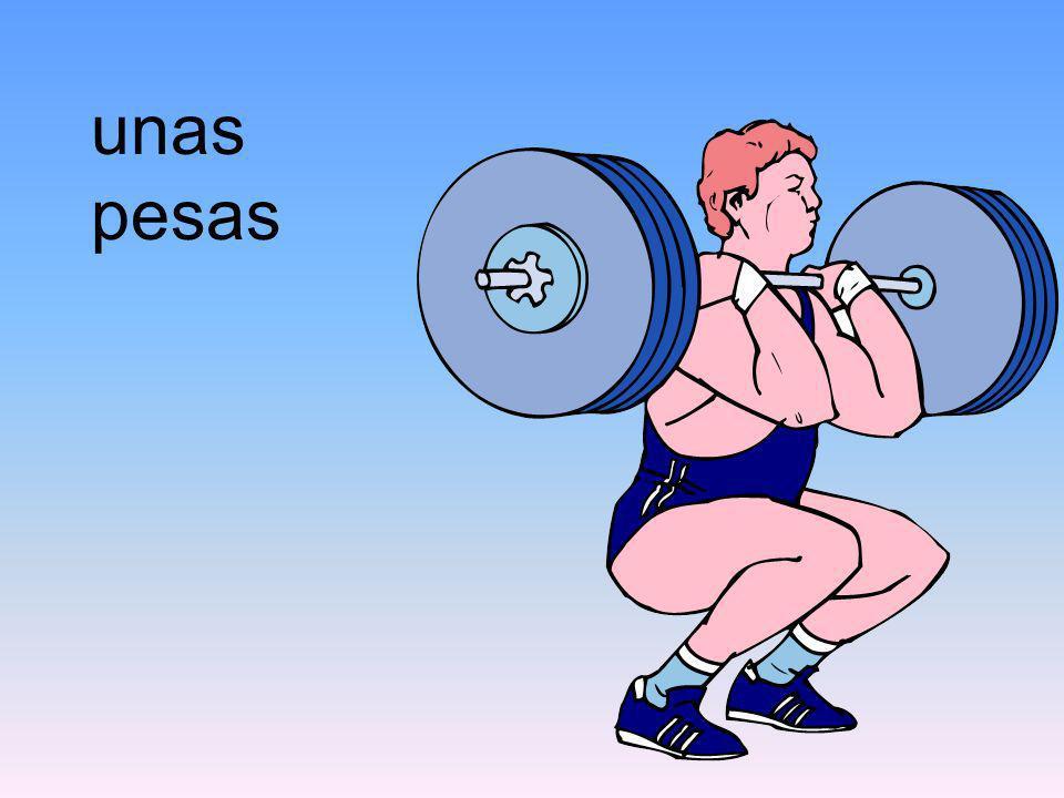 unas pesas