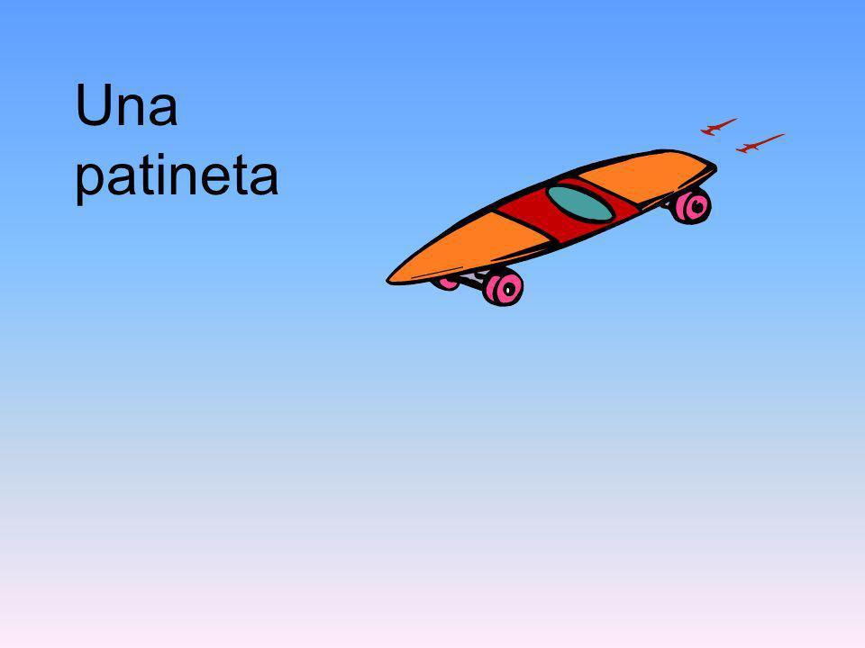 Una patineta