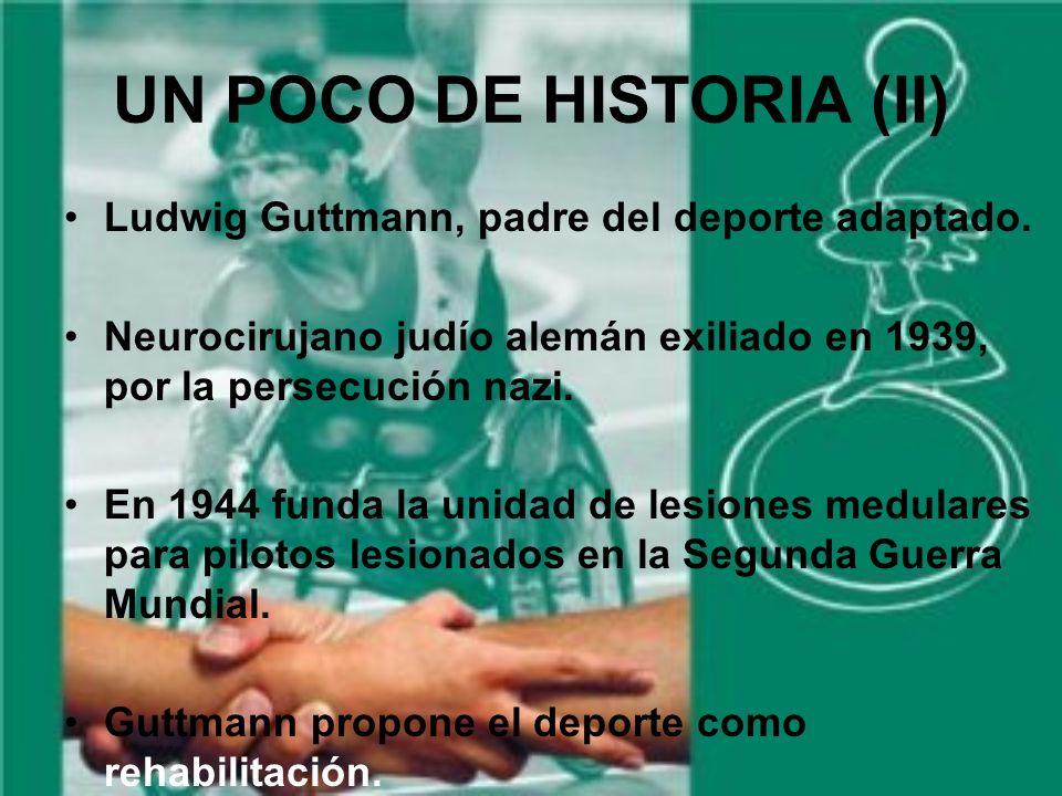 UN POCO DE HISTORIA (II) Ludwig Guttmann, padre del deporte adaptado.