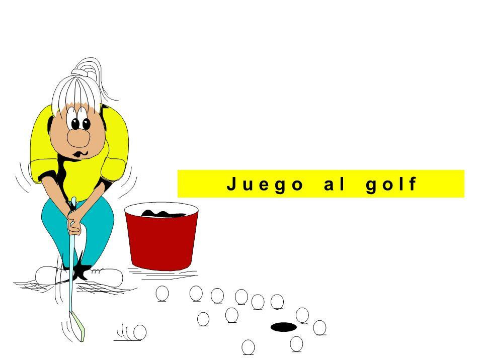 J__ __ __ __ a__ g__ __ __ J u e g o a l g o l f