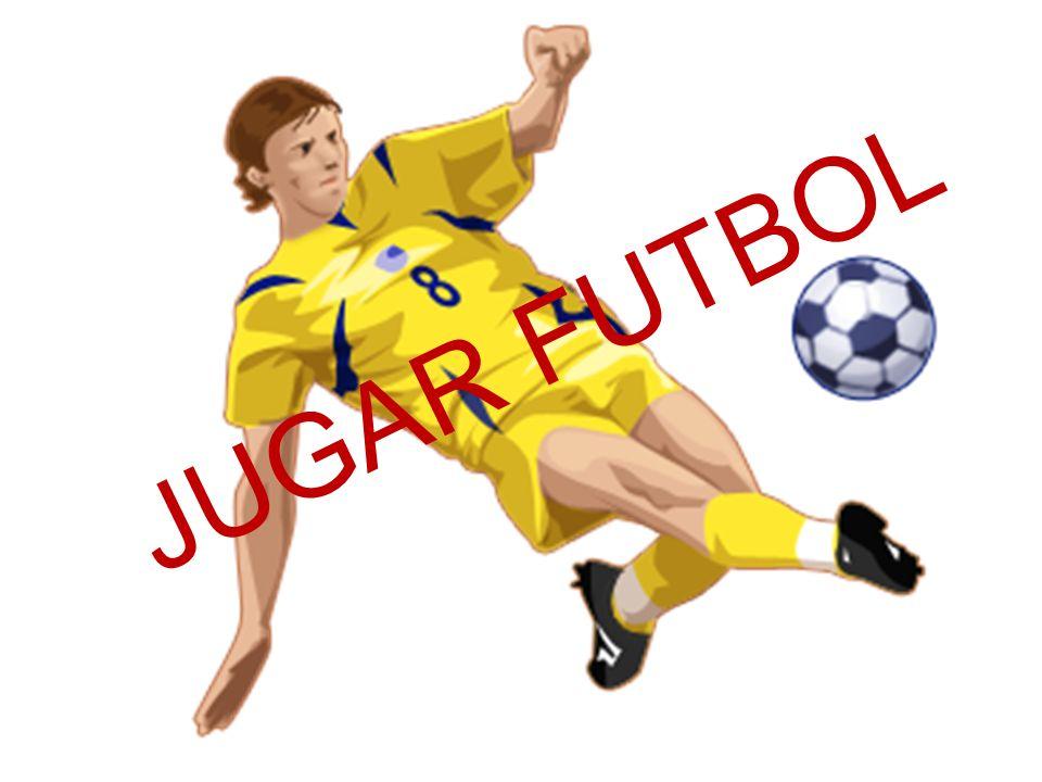 JUGAR FUTBOL