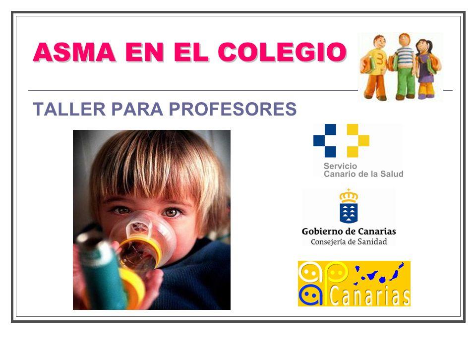 ACTITUD UNA CRISIS DE ASMA EN EL COLEGIO (ABCD) A.- AVISAR A SU PROFESOR, tan pronto como se dé cuenta que está comenzando una crisis.