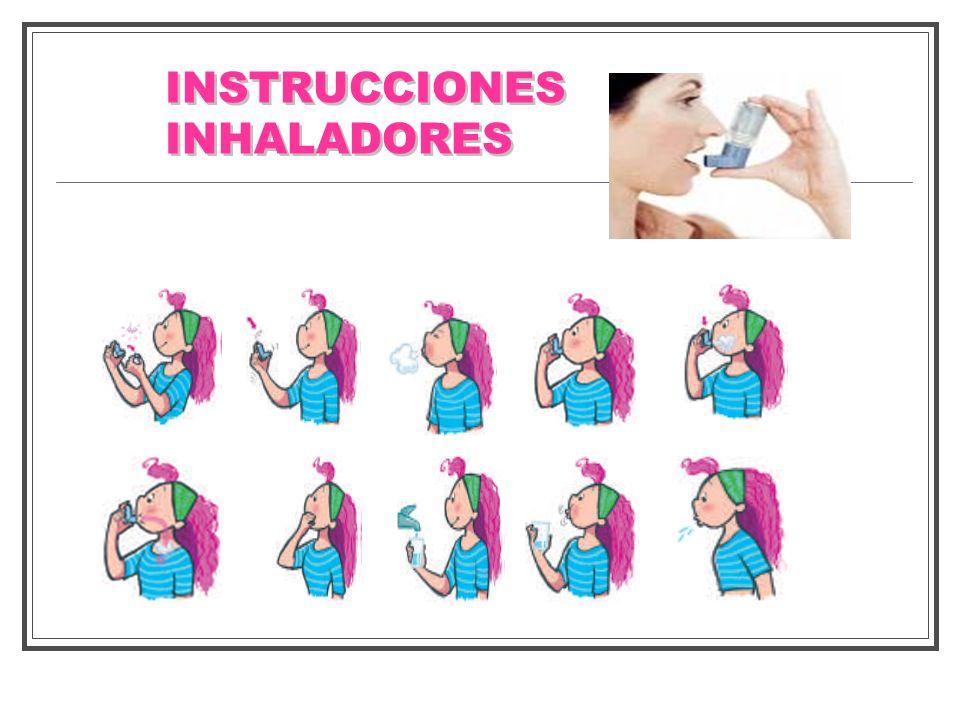 INSTRUCCIONES INHALADORES