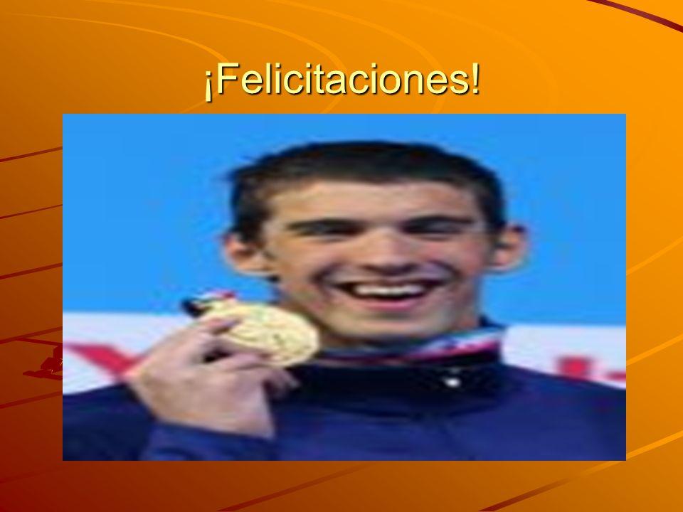 ¡Felicitaciones!
