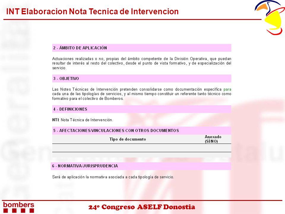 24º Congreso ASELF Donostia INT Elaboracion Nota Tecnica de Intervencion