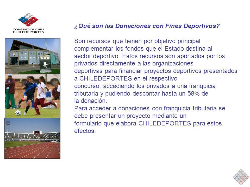 ¿Qué son las Donaciones con Fines Deportivos.