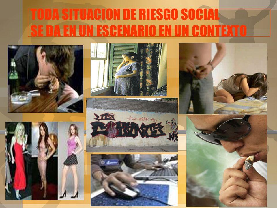 ETAPAS DE CONSUMO 1. CONSUMO EXPERIMENTAL 2. CONSUMO SOCIAL U OCASIONAL 3. CONSUMO HABITUAL Referido al primer contacto con la sustancia: por curiosid