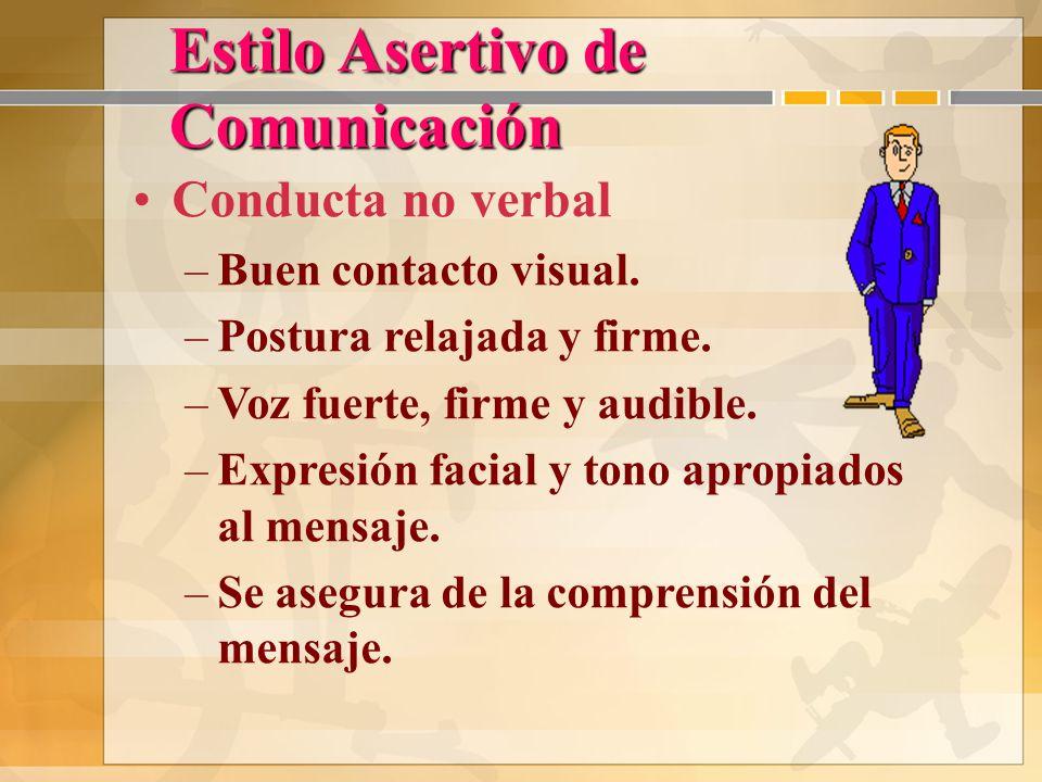 Asertiva La Comunicación-