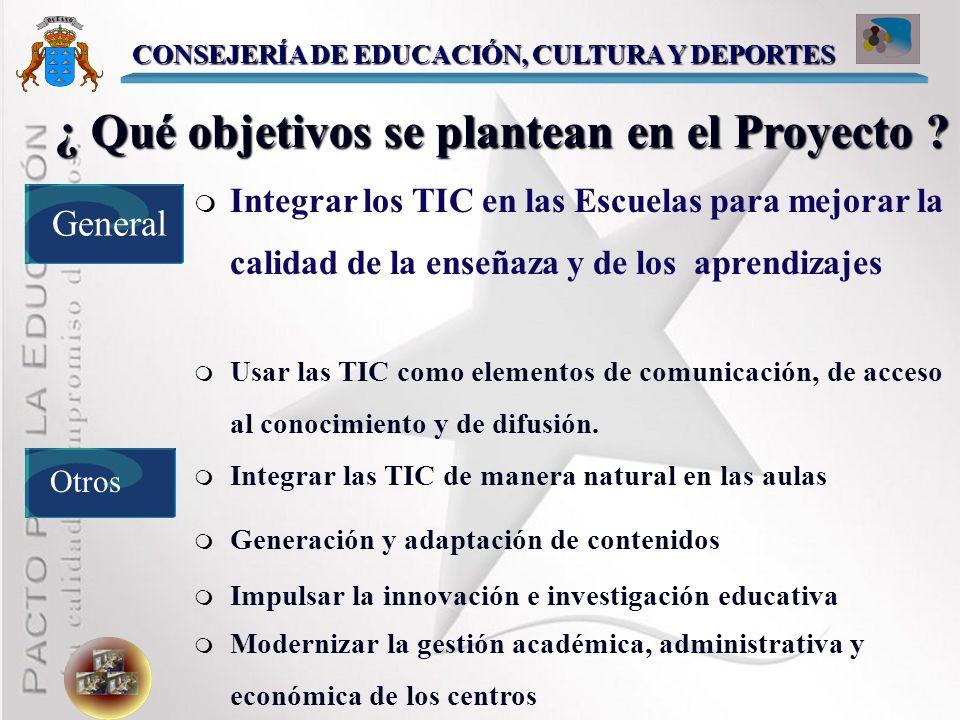 ¿ Qué es el Proyecto MEDUSA? Proyecto para integrar las Tecnologías de la Información y la Comunicación a los Centros Educativos Canarios no Universit
