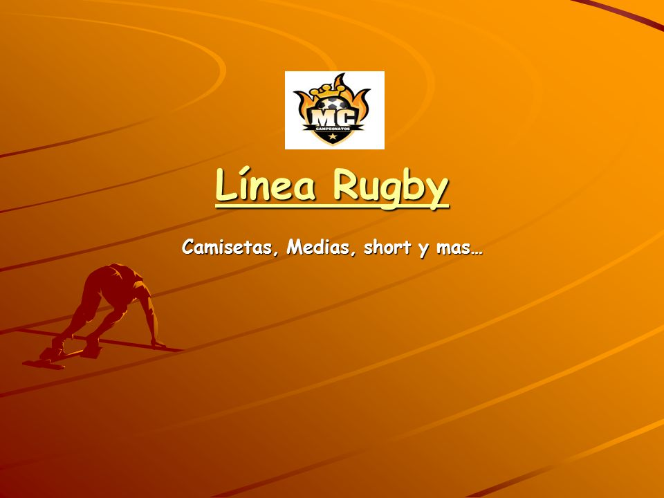 Línea Rugby Camisetas, Medias, short y mas…