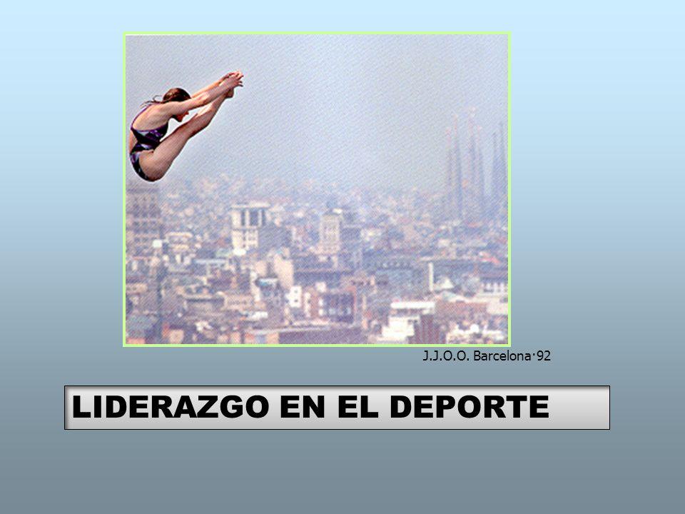 J.J.O.O. Barcelona·92 LIDERAZGO EN EL DEPORTE