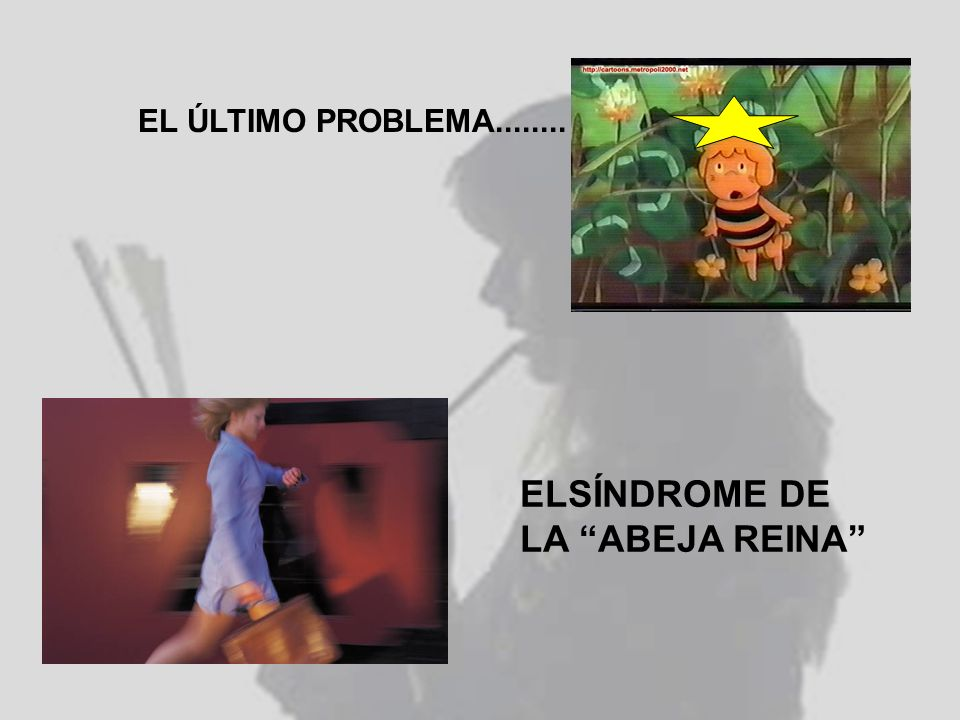 EL ÚLTIMO PROBLEMA........ ELSÍNDROME DE LA ABEJA REINA