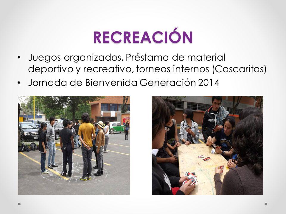 RECREACIÓN 2013