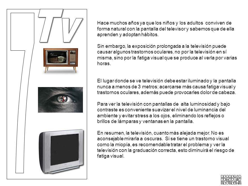 Hace muchos años ya que los niños y los adultos conviven de forma natural con la pantalla del televisor y sabemos que de ella aprenden y adoptan hábit