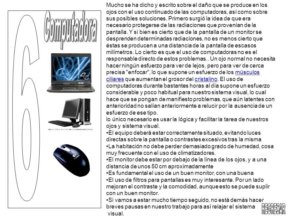 Mucho se ha dicho y escrito sobre el daño que se produce en los ojos con el uso continuado de las computadoras, así como sobre sus posibles soluciones