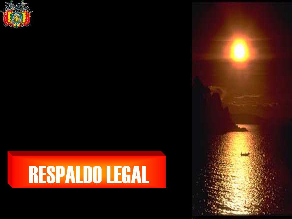 Ministerio de Salud y Deportes RESPALDO LEGAL