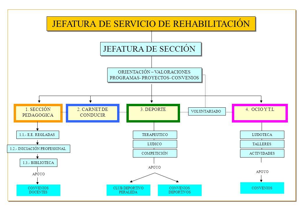 ORIENTACIÓN – VALORACIONES PROGRAMAS- PROYECTOS- CONVENIOS ORIENTACIÓN – VALORACIONES PROGRAMAS- PROYECTOS- CONVENIOS 1. SECCIÓN PEDAGOGICA 2. CARNET