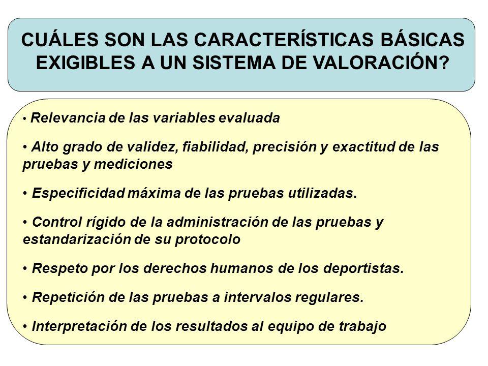 CUÁLES SON LOS MÉTODOS DE VALORACIÓN FUNCIONAL.