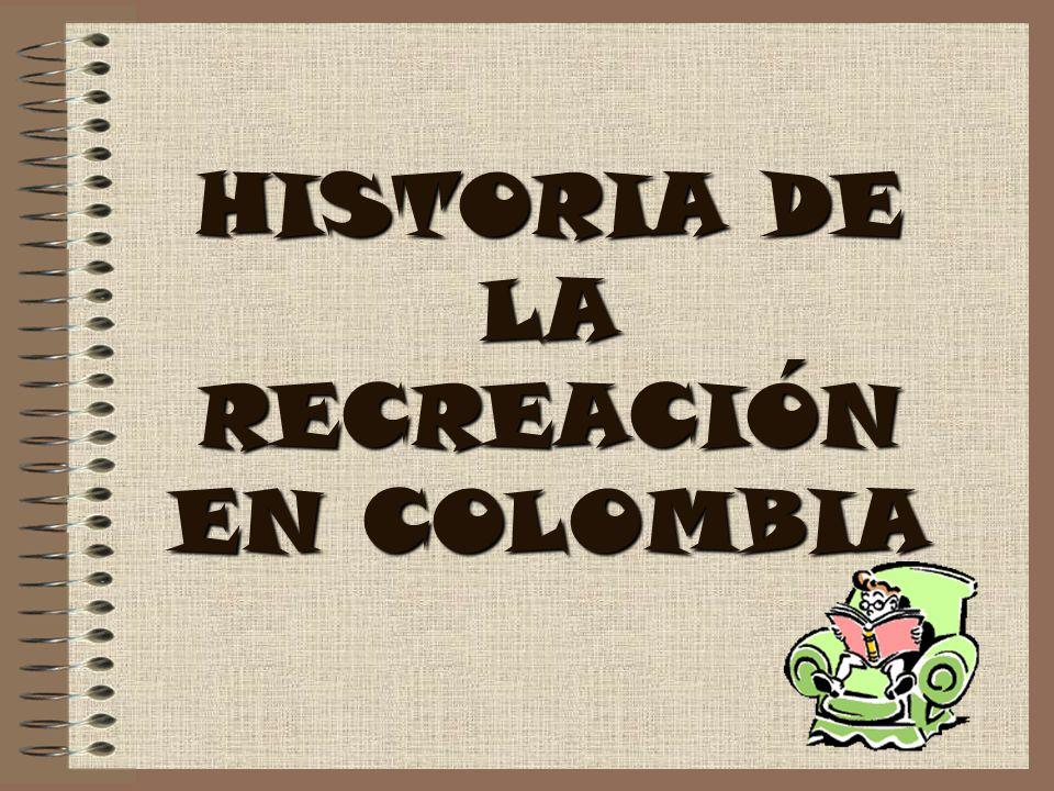 HISTORIA DE LA RECREACIÓN EN COLOMBIA