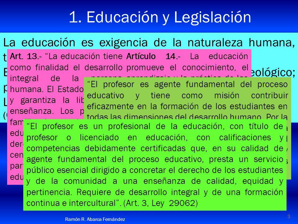 tiene Representación necesita Anticipación de de Planificación de la ACTIVIDAD del CAMBIO 14 Ramón R.