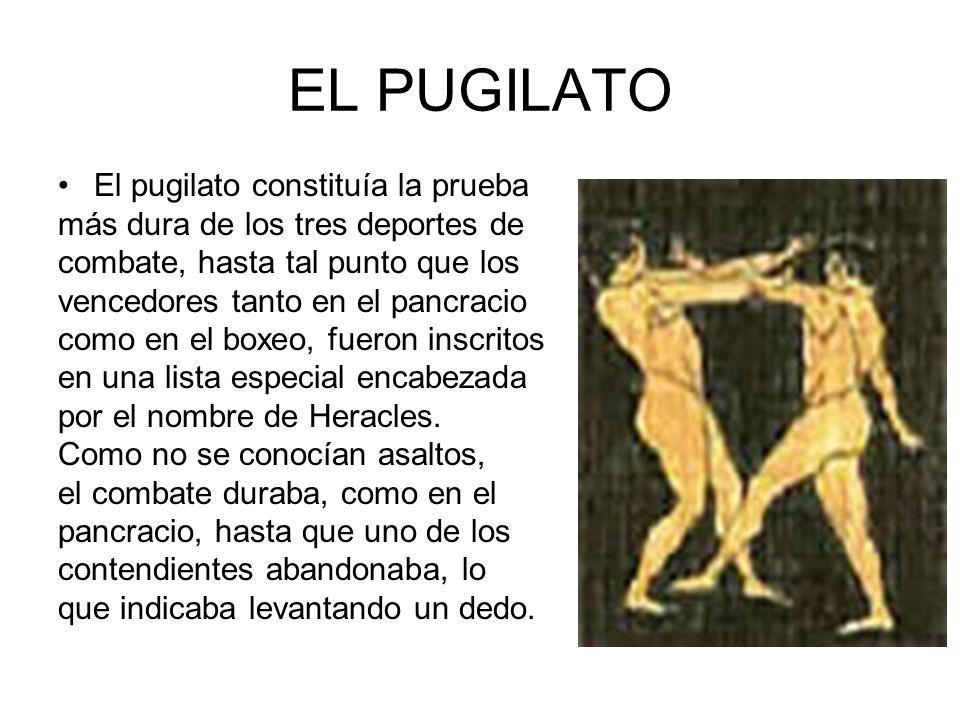 HÍPICA La carrera de cuadrigas fue la primera en introducirse en las competiciones oficiales, en el 680 a.C.