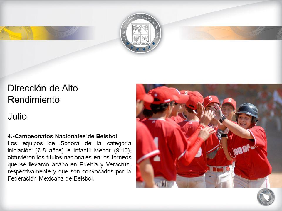 Dirección de Alto Rendimiento AGOSTO 1.- Premiación Nacional de la Olimpiada y Paralimpiada 2009.