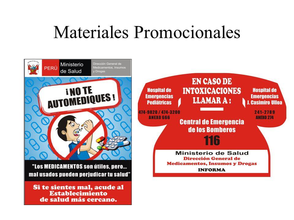Materiales Promocionales