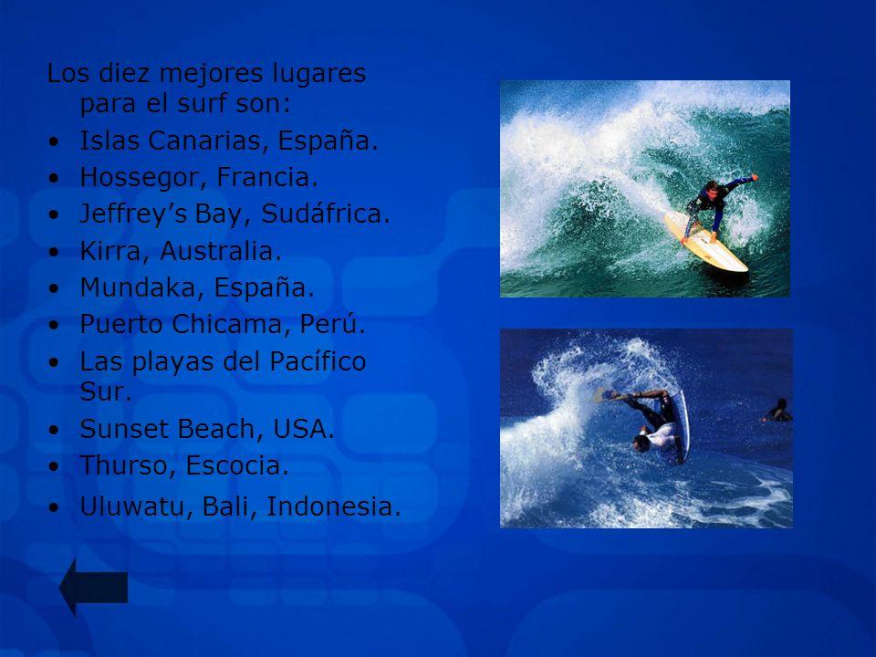 SURF Y BODYBOARD SURF: deporte que consiste en deslizarse sobre las olas del mar de pie sobre una tabla, dirigiéndola gracias a una o varias quillas s