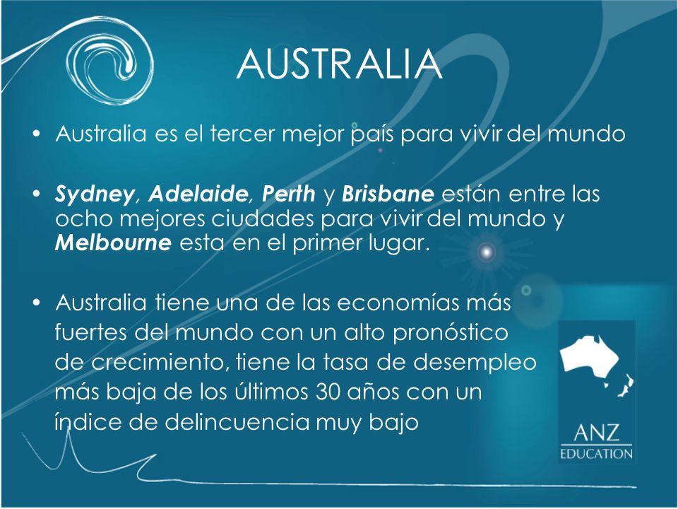 Multicultural La población australiana está formada por migrantes de más de 200 países Existe una riqueza cultural inmensa gracias a una sociedad abierta y tolerante Australia es un país abierto a los migrantes sin discriminación