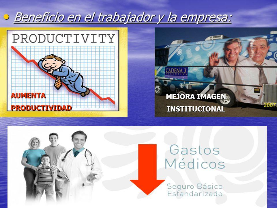 JULIO ABDALA M. - PROFESOR EDUCACION FISICA Beneficio en el trabajador y la empresa: Beneficio en el trabajador y la empresa: MEJORA IMAGEN INSTITUCIO