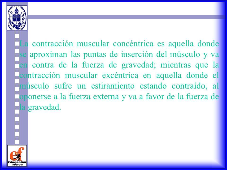 Actualmente este término es impreciso cuando se aplica a la mayoría de las acciones musculares dinámicas que involucran movimientos debido a que la ca