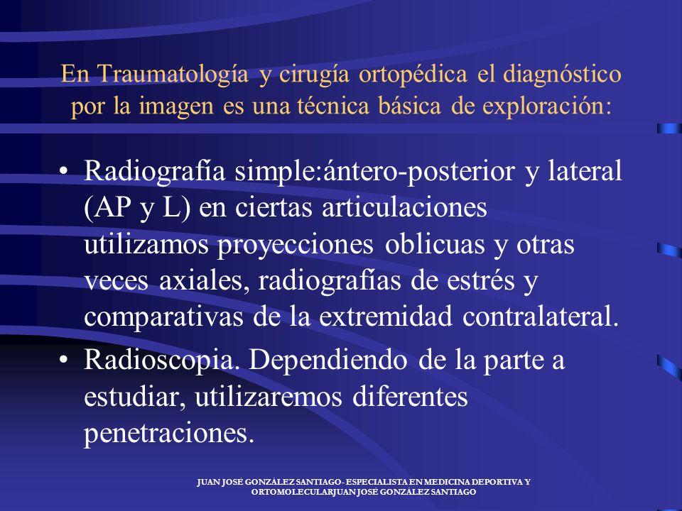 JUAN JOSÉ GONZÁLEZ SANTIAGO- ESPECIALISTA EN MEDICINA DEPORTIVA Y ORTOMOLECULARJUAN JOSÉ GONZÁLEZ SANTIAGO MÉTODOS DE DIAGNÓSTICO La exploración clíni