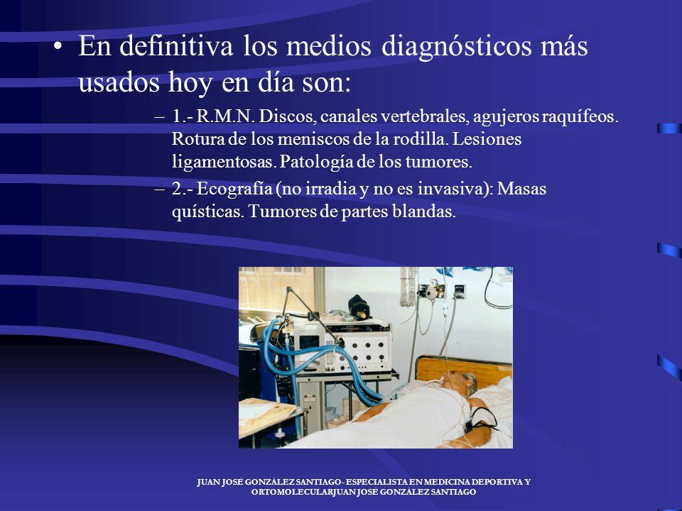 JUAN JOSÉ GONZÁLEZ SANTIAGO- ESPECIALISTA EN MEDICINA DEPORTIVA Y ORTOMOLECULARJUAN JOSÉ GONZÁLEZ SANTIAGO Radiografía con contraste: artrografía, mie