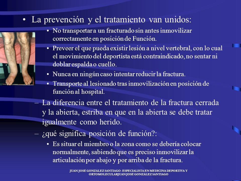 JUAN JOSÉ GONZÁLEZ SANTIAGO- ESPECIALISTA EN MEDICINA DEPORTIVA Y ORTOMOLECULARJUAN JOSÉ GONZÁLEZ SANTIAGO El mecanismo de producción de las fracturas