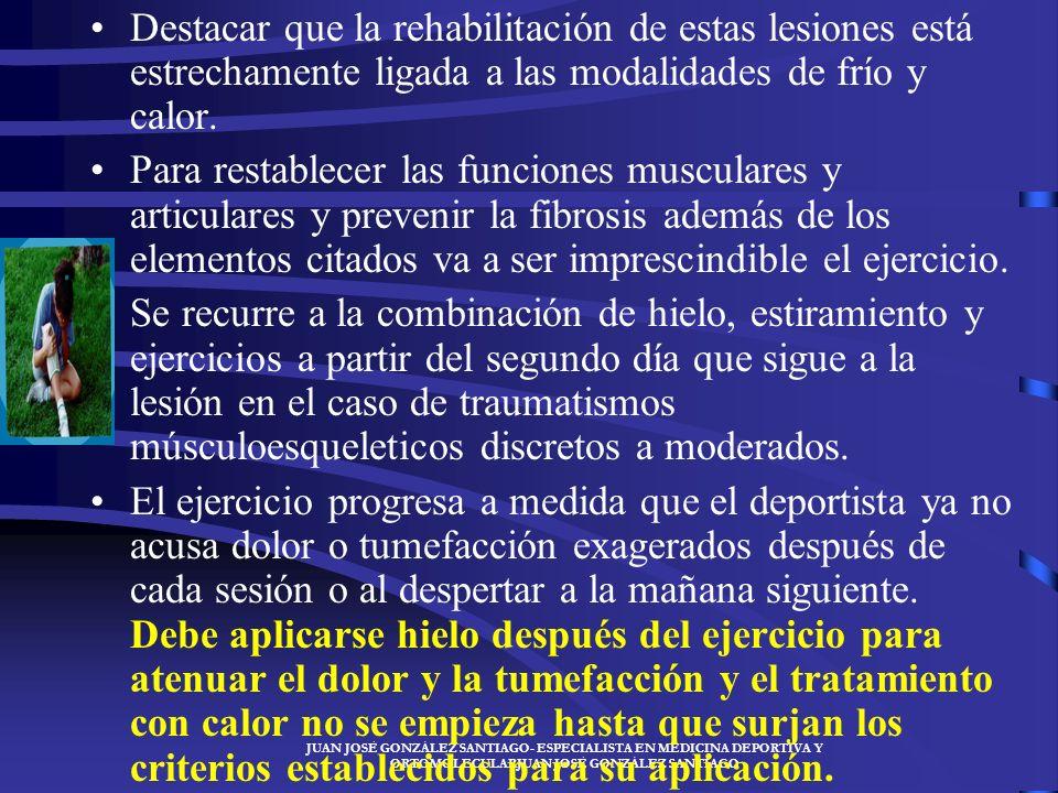 JUAN JOSÉ GONZÁLEZ SANTIAGO- ESPECIALISTA EN MEDICINA DEPORTIVA Y ORTOMOLECULARJUAN JOSÉ GONZÁLEZ SANTIAGO –La causa casi siempre es por mecanismo ind