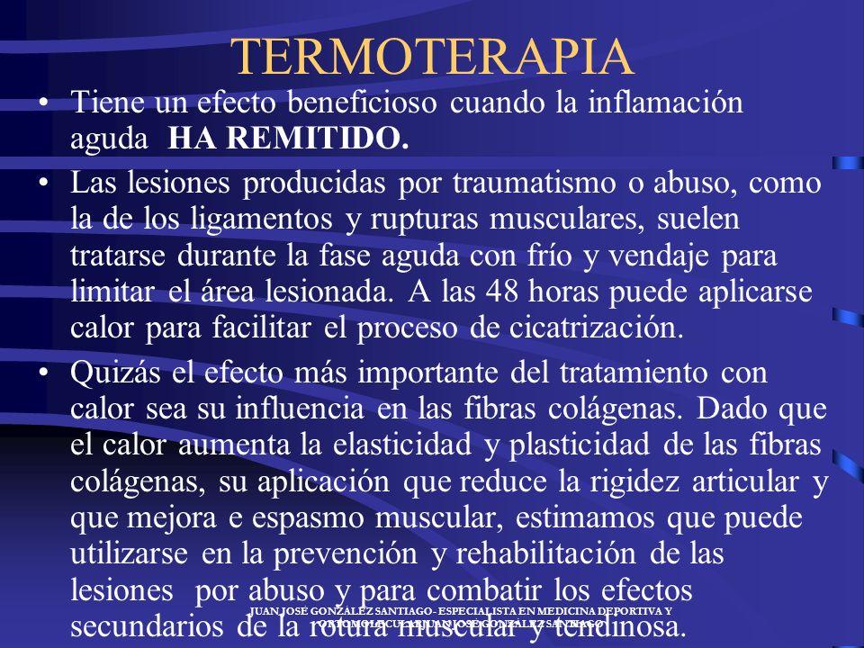 JUAN JOSÉ GONZÁLEZ SANTIAGO- ESPECIALISTA EN MEDICINA DEPORTIVA Y ORTOMOLECULARJUAN JOSÉ GONZÁLEZ SANTIAGO En todos los ejercicios el deportista ha de
