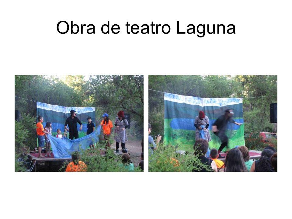 Obra de teatro Laguna