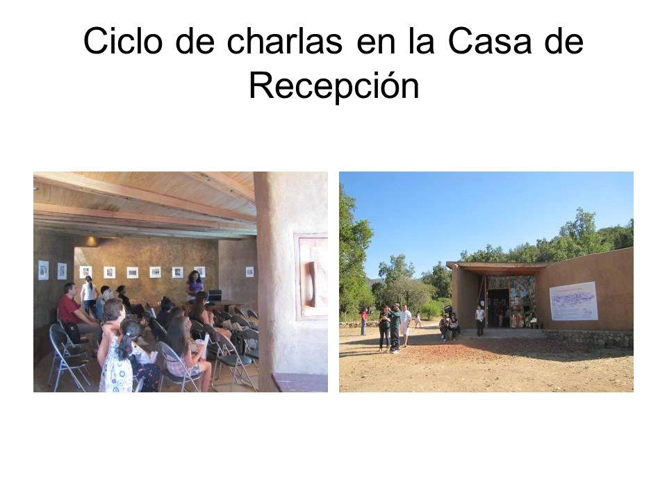 Ciclo de charlas en la Casa de Recepción