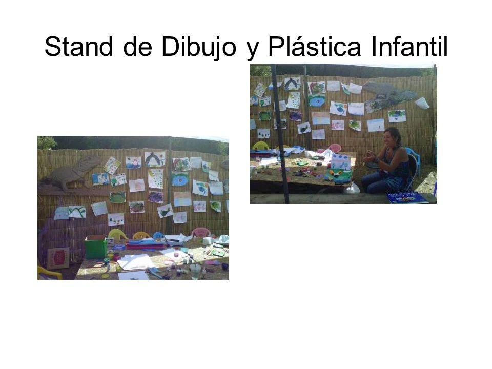Stand de Dibujo y Plástica Infantil