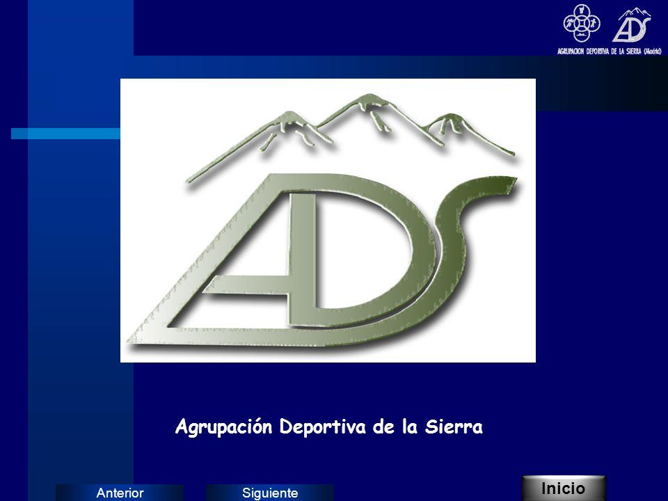 SiguienteAnterior Agrupación Deportiva de la Sierra Inicio