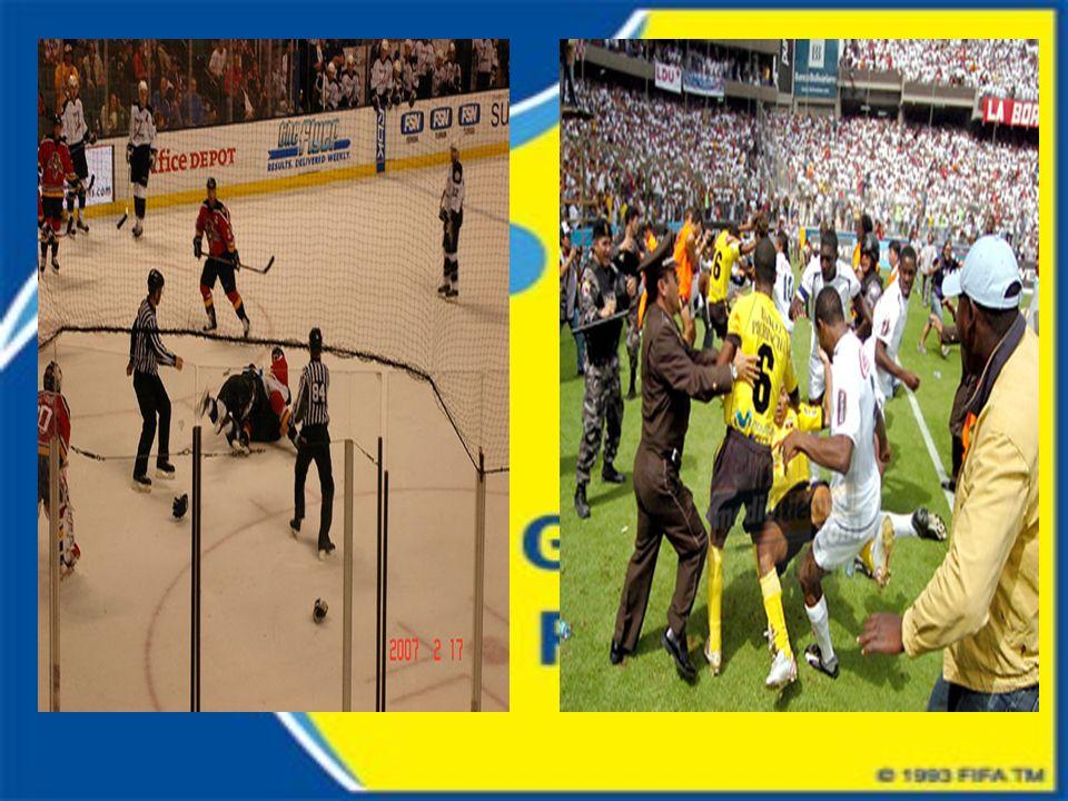 Barristas: Este tipo de violencia deportiva es más común que la violencia dentro de un campo de juego.