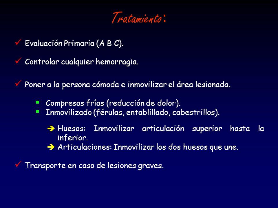 Z Evaluación Primaria (A B C).Z Estado de conciencia.